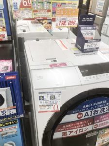 洗濯機の価格比較
